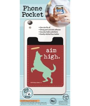 Aim High Phone Pocket