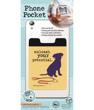 Unleash Your Potential Phone Pocket