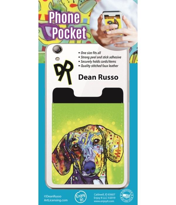 Dachshund Phone Pocket