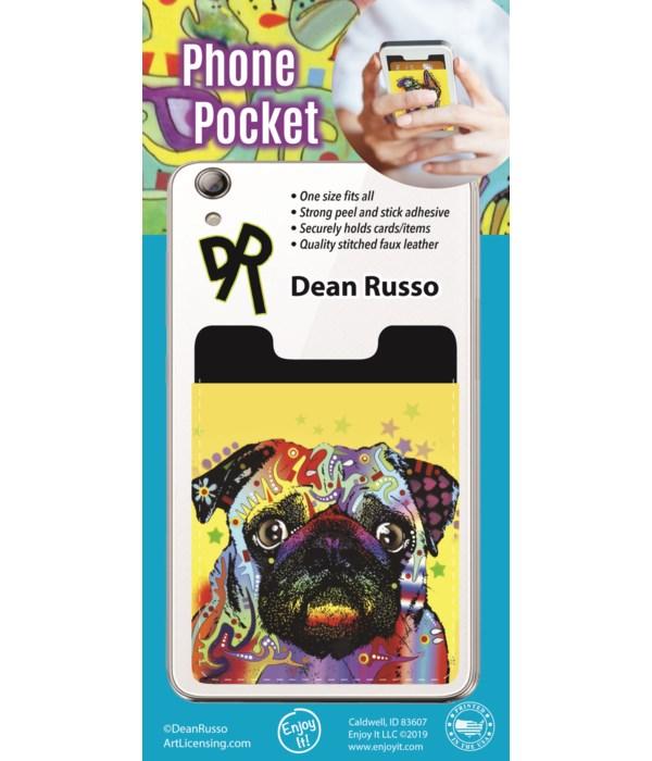 Pug Phone Pocket