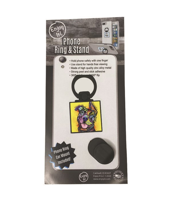 Pit Bull 1 Phone Ring & Stand