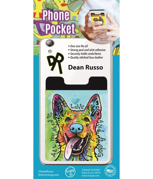 German Shepherd Phone Pocket