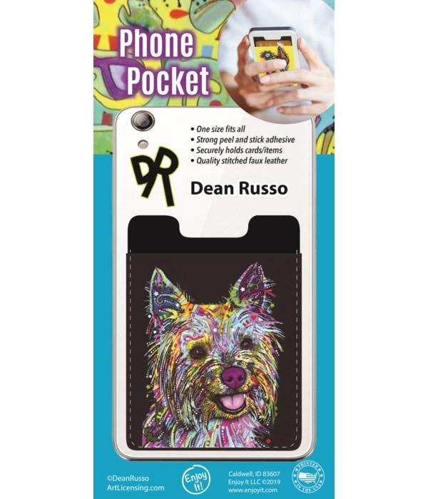 Yorkie Phone Pocket