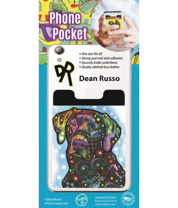 Black Lab Phone Pocket