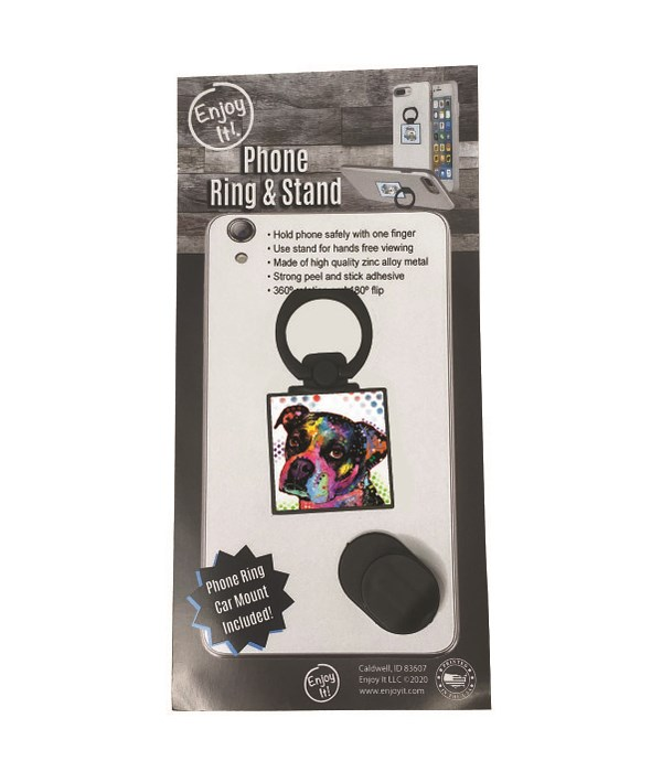 Boxer Phone Ring & Stand