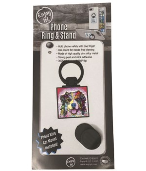 Australian Shepherd Phone Ring & Stand