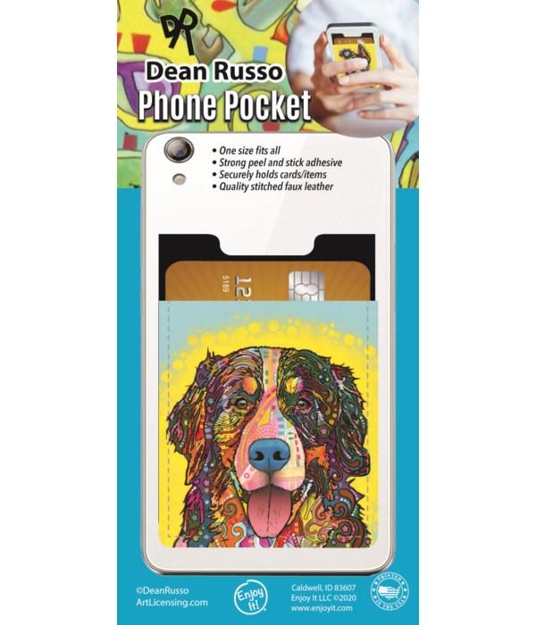 Bernese Mtn. Dog  Phone Pocket