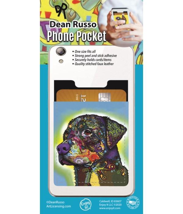 Rottweiler Phone Pocket