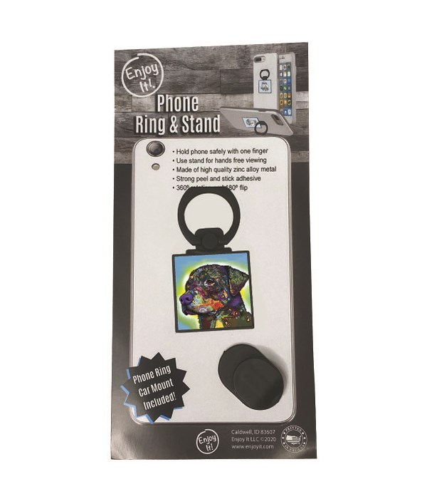 Rottweiler Phone Ring & Stand