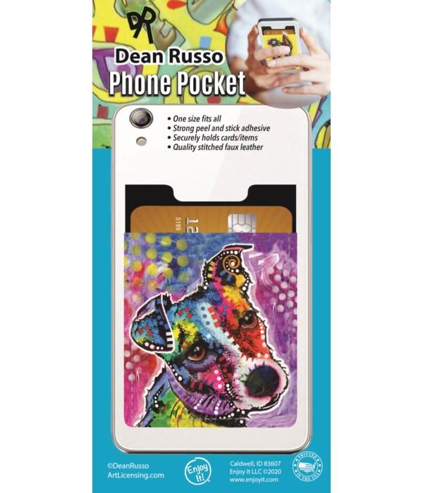 Jack Russell Phone Pocket