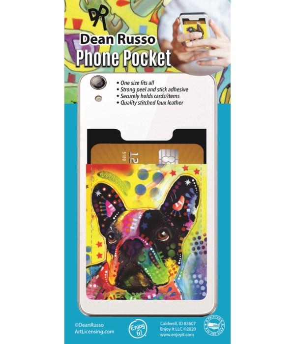 French Bulldog Phone Pocket