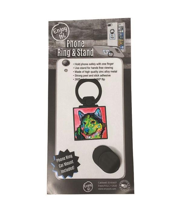 Husky Phone Ring & Stand