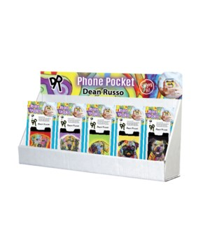 Dean Russo Pet Collection 2 Phone Pocket Large Counter Display