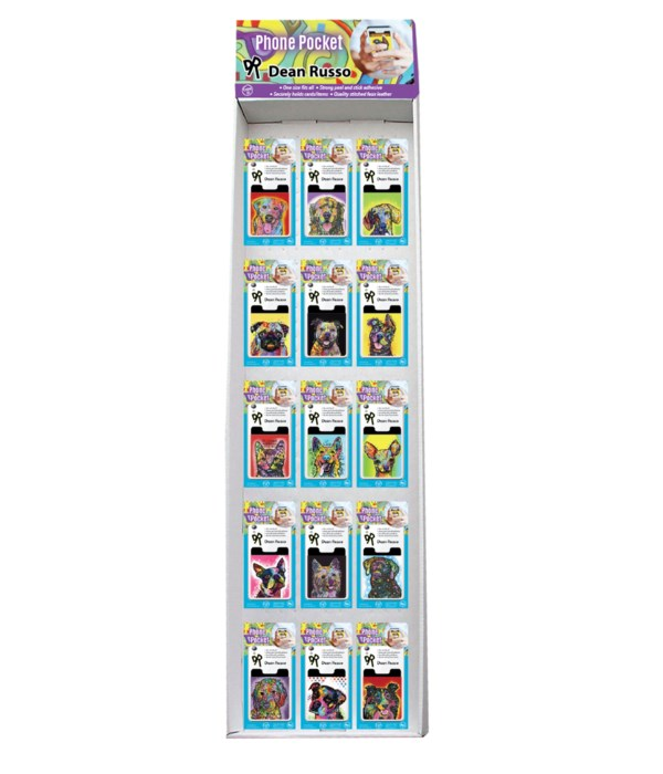 Dean Russo Pet Collection 2 Phone Pocket Sidekick Display