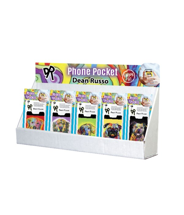 Dean Russo Pet Collection 2 Phone Pocket Small Counter Display