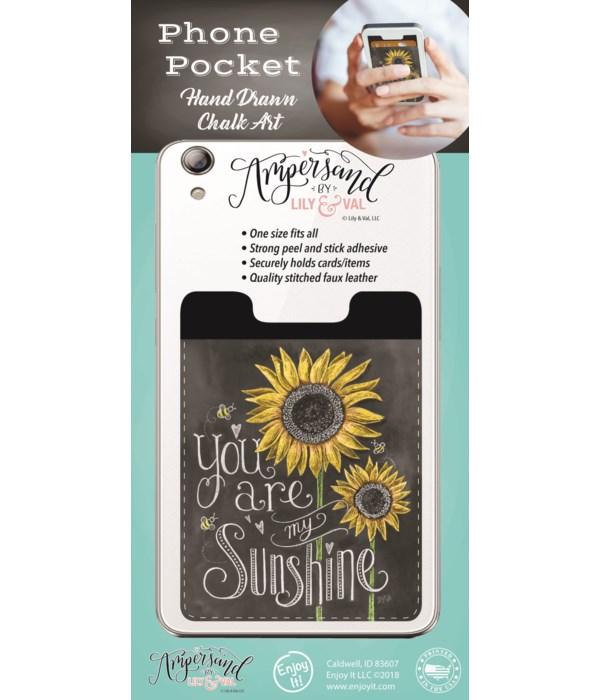 My Sunshine Phone Pocket