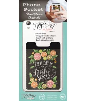 Fresh Start Phone Pocket