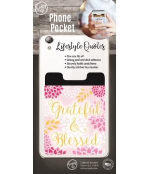 Grateful & Blessed Ride Phone Pocket