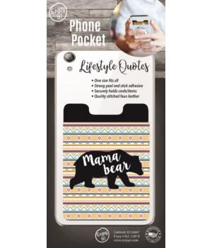 Mama Bear Phone Pocket
