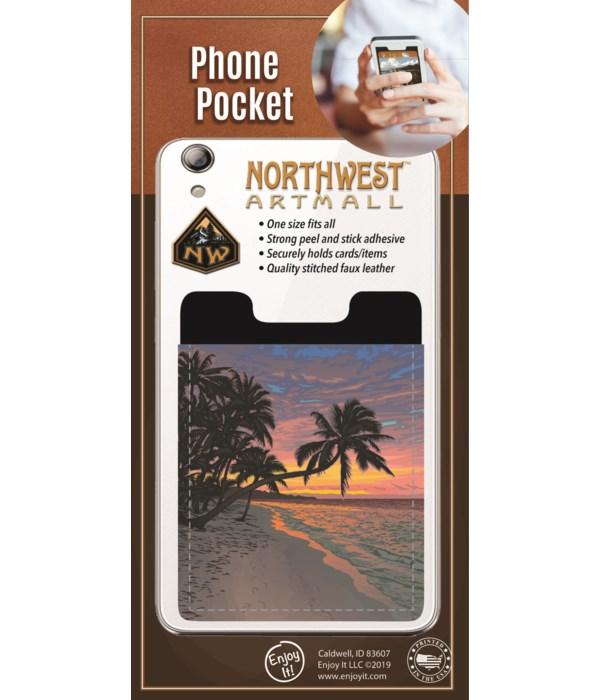 Beach Phone Pocket