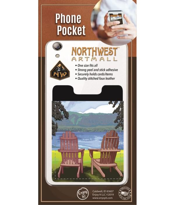 Lake Chairs Phone Pocket