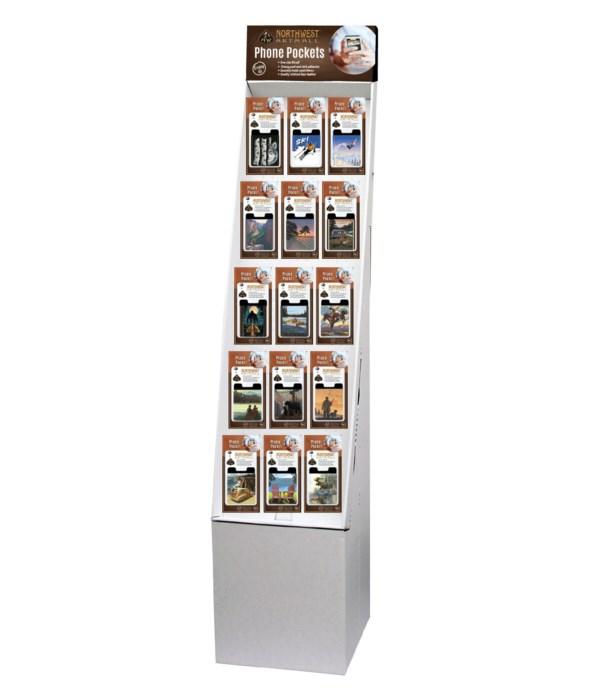 Northwest Art Phone Pocket Floor Display