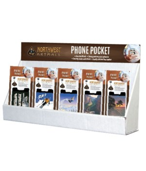 Northwest Art Phone Pocket Small Counter Display