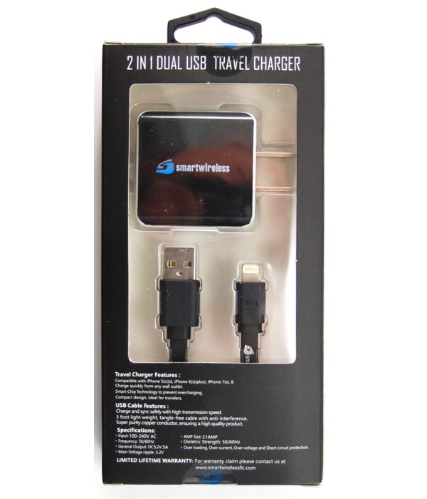 I-phone USB and charger2.1A
