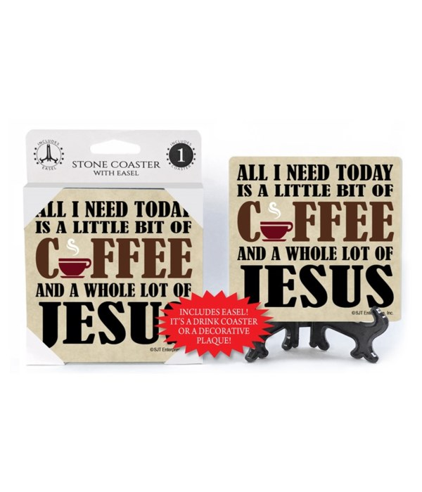 All I need today is a little bit of coff