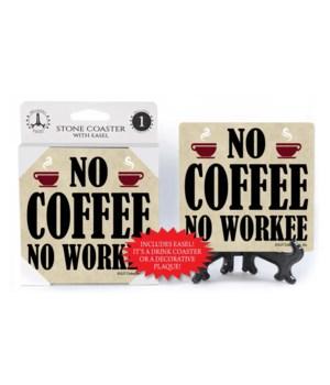 no coffee no workee (cup graphic)  coast