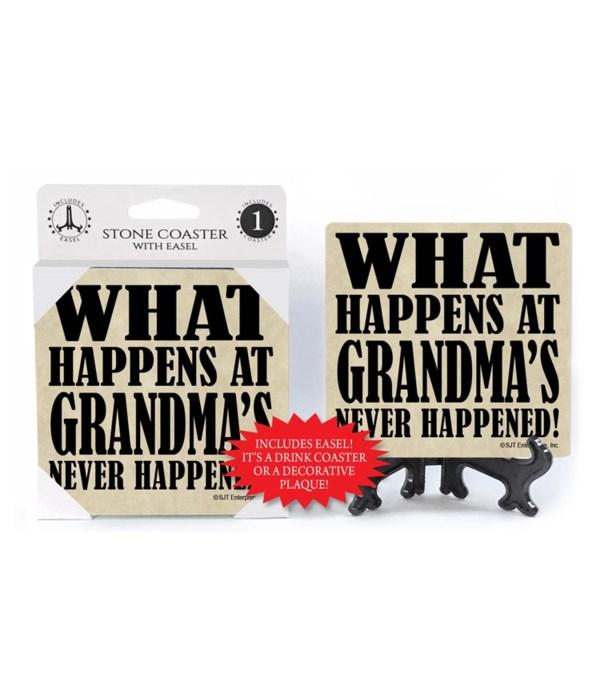 What happens at Grandma's Never Happened