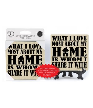 What I love most about my home is whom I