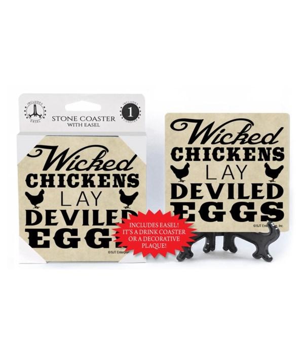 Wicked chickens lay deviled eggs  coaste