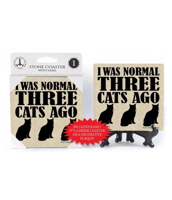 I was normal three cats ago  coaster 1-p