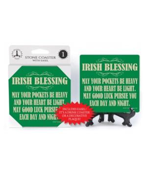 Irish Blessing: May your pockets be heav