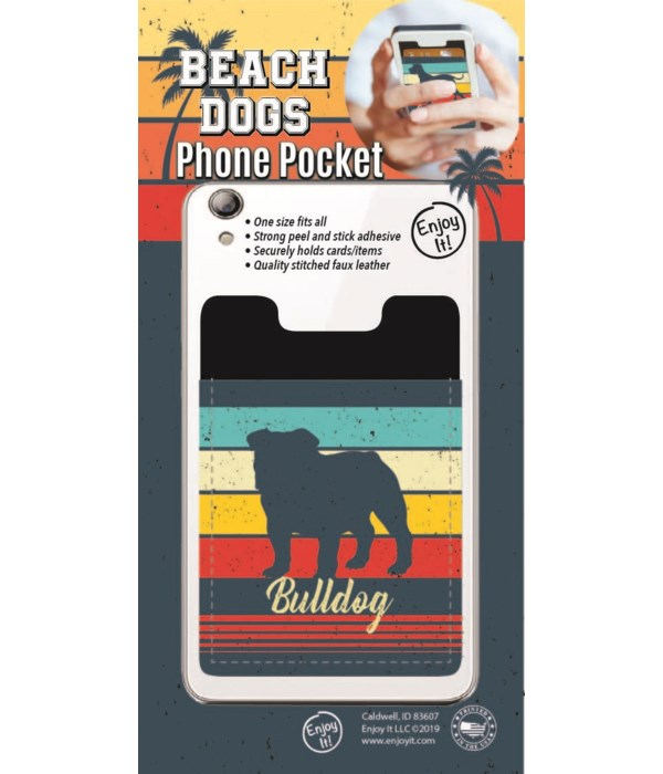 Bulldog Phone Pocket