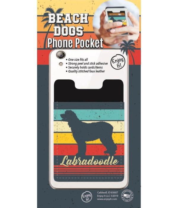 Labradoodle Phone Pocket