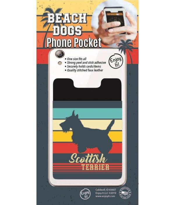 Scottish Terrier Phone Pocket