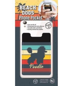 Poodle Phone Pocket