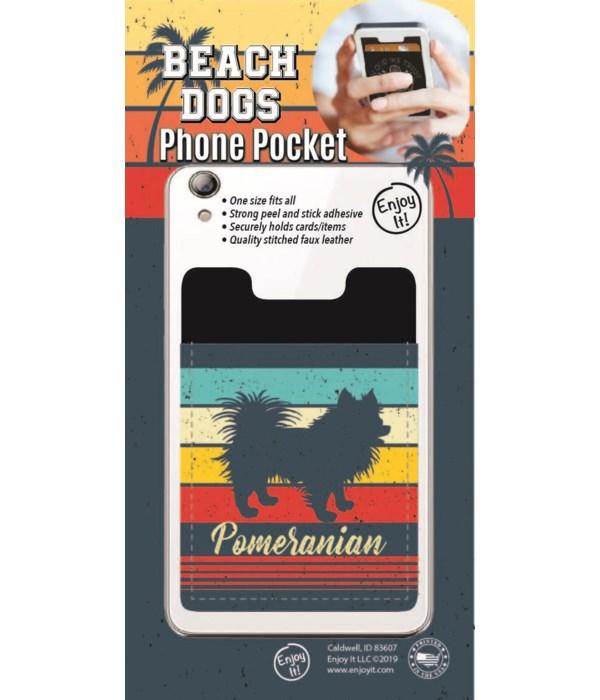 Pomeranian Phone Pocket