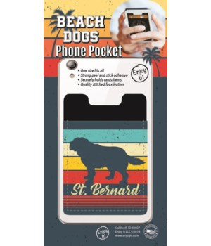 St. Bernard Phone Pocket