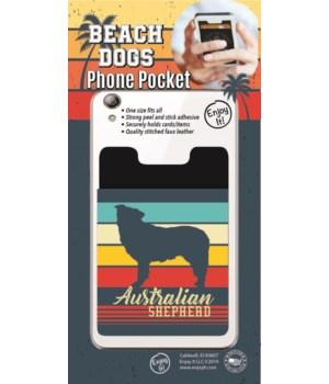 Australian Cattle Dog Phone Pocket