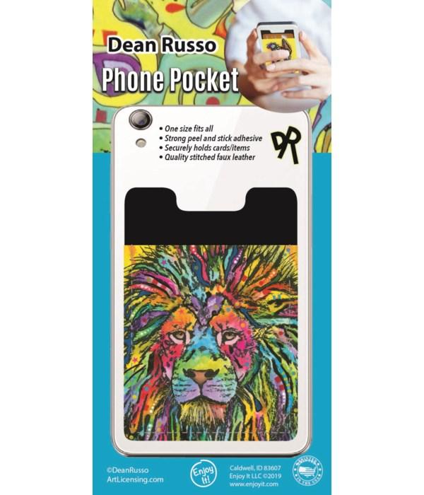 Lion Phone Pocket