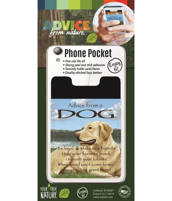 Dog Phone Pocket