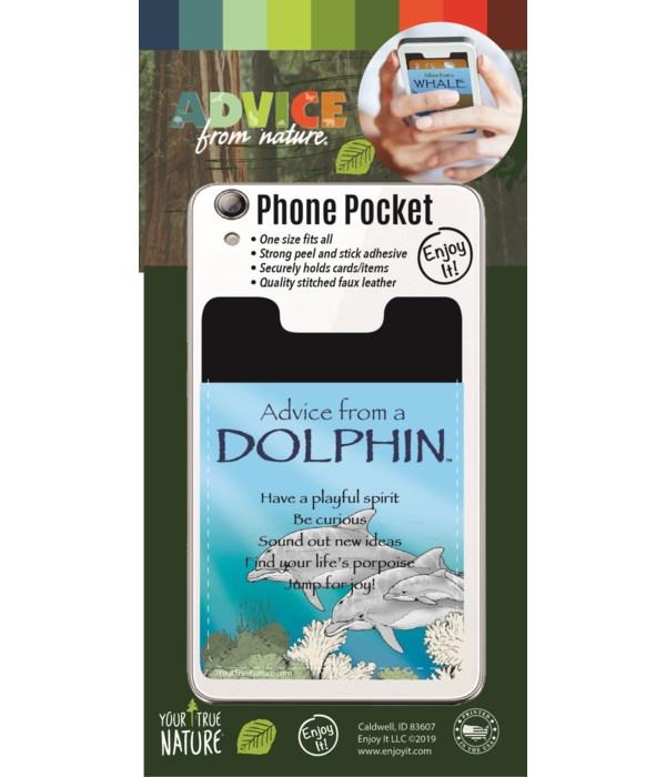Dolphin Phone Pocket