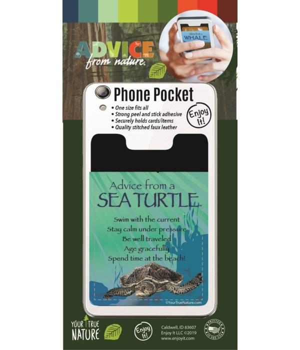 Sea Turtle Phone Pocket