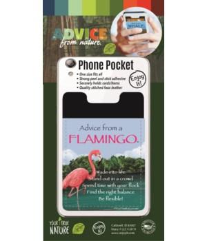 Flamingo Phone Pocket