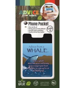 Whale Phone Pocket