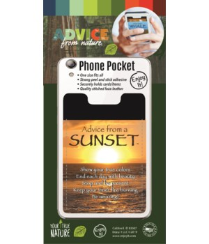 Sunset Phone Pocket
