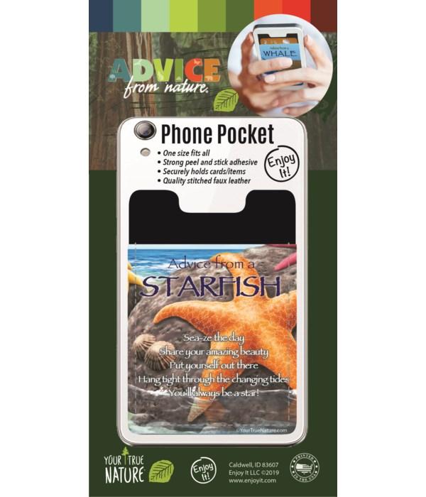 Starfish Phone Pocket